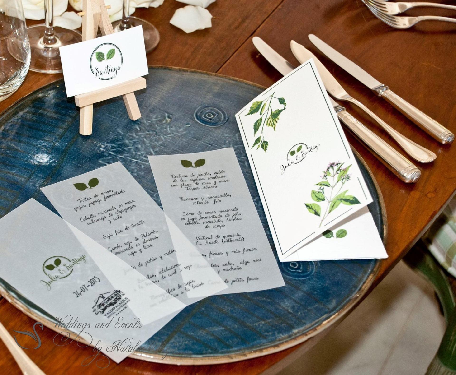 Ideas of a wedding decor.