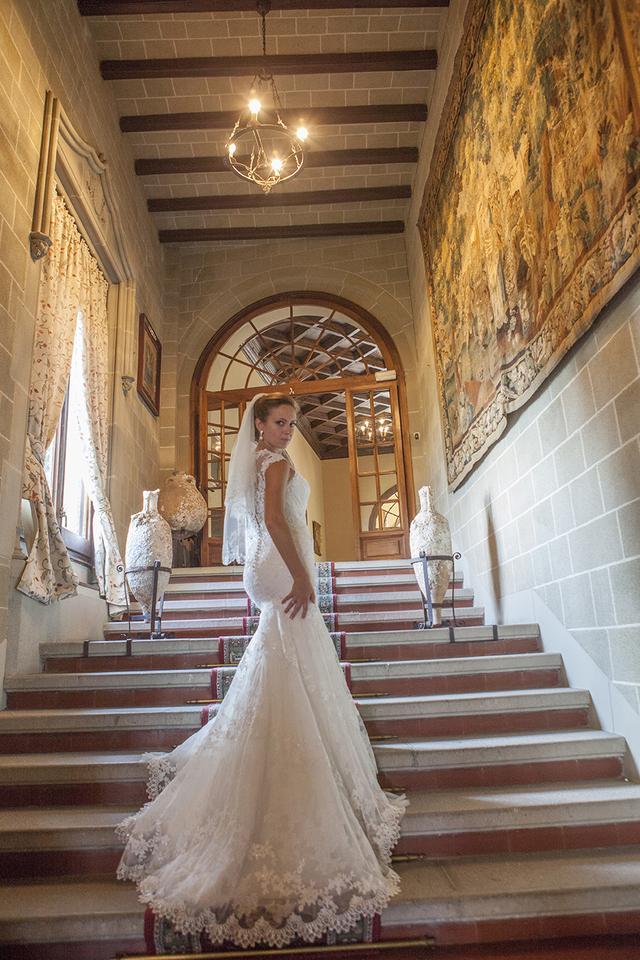 9 причин отпраздновать свадьбу в испанском замке Ла Барония