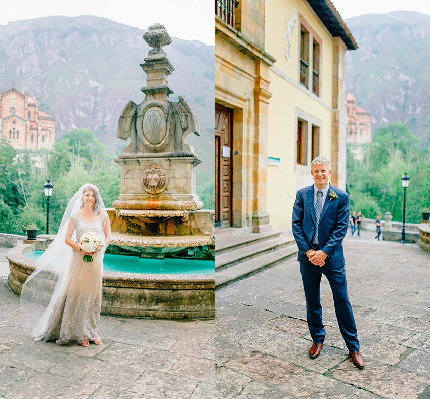 wedding in Asturias