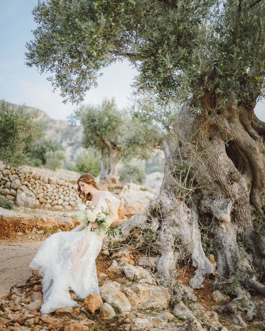 Wedding style shoot in Mallorca