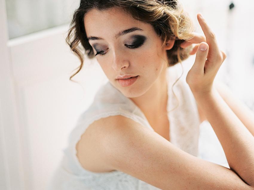 Bridal morning in Madrid
