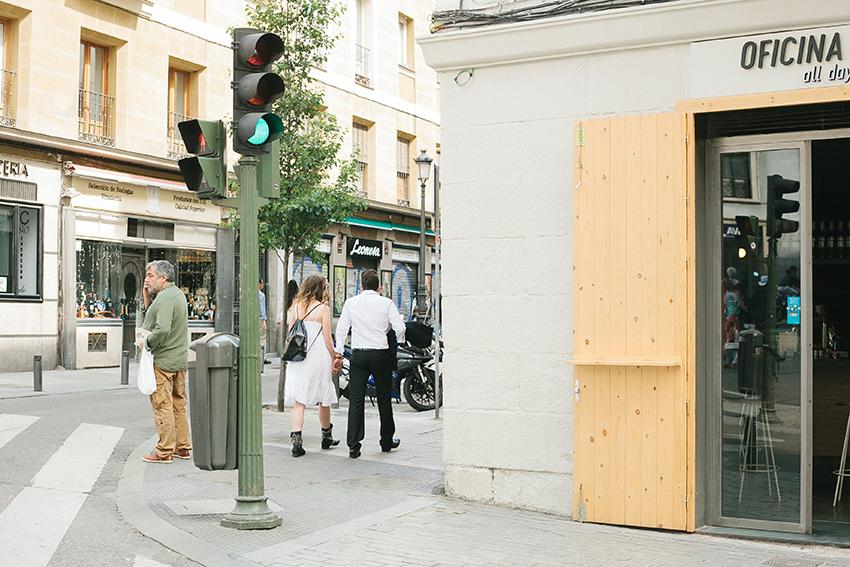 Love story in Madrid