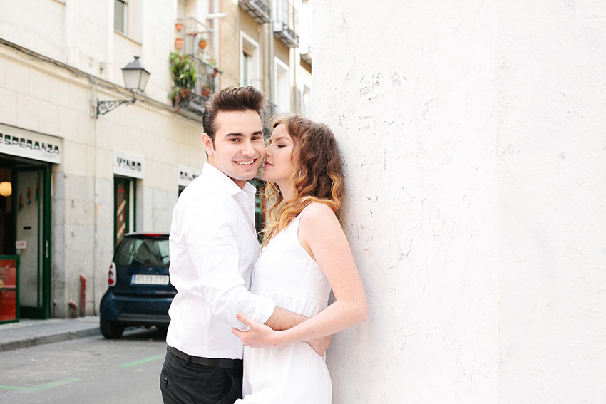 Love Story in Madrid – Raul and Yulia