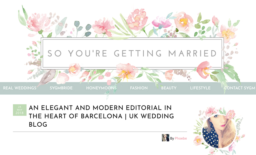 Natalia Ortiz revista So you're getting married