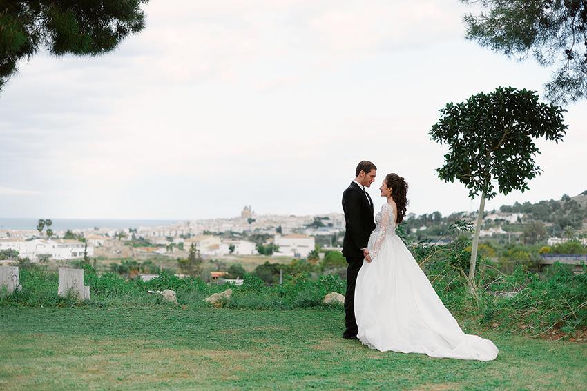 Beach wedding ceremony in Alicante