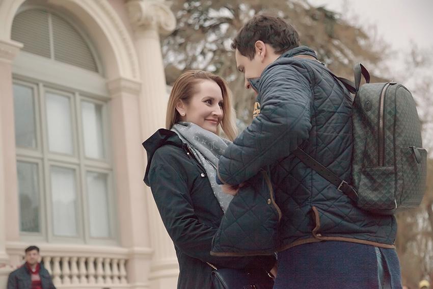 Wedding proposal in Madrid