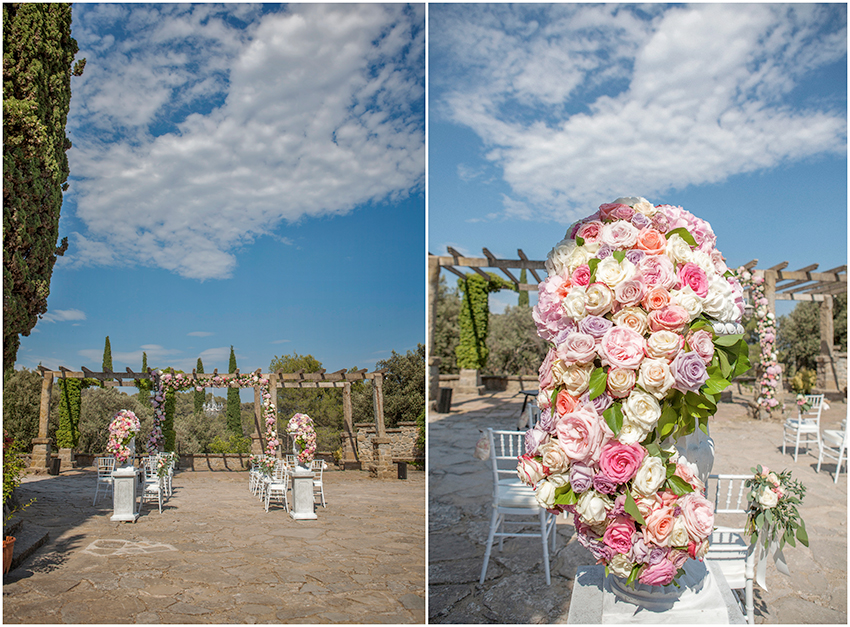 Wedding in a Spanish castle