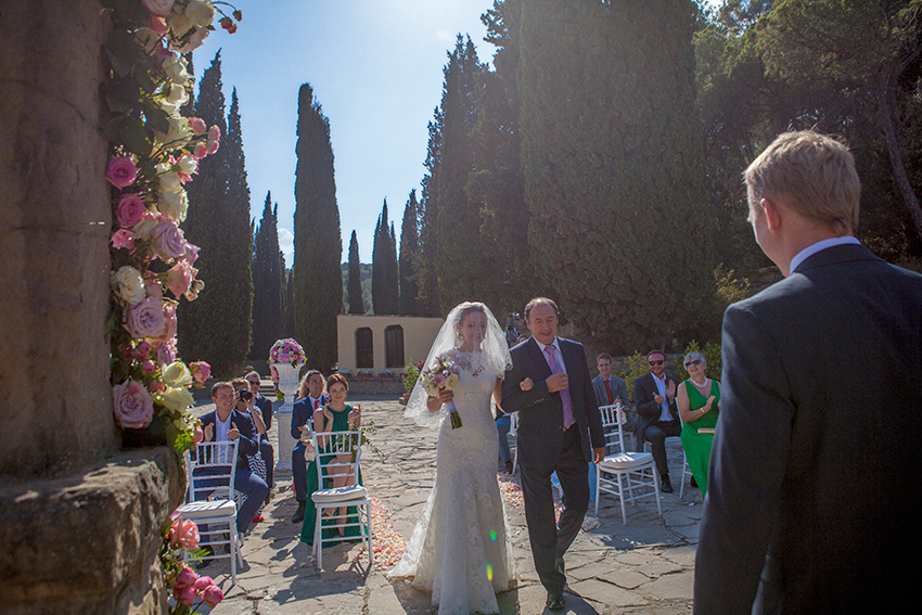 Wedding in a Spanish castle