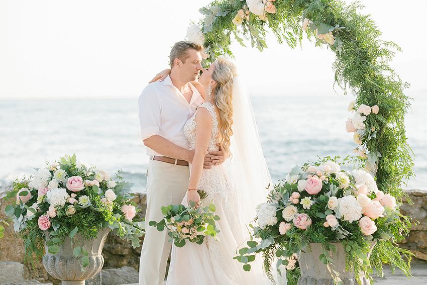 Le mariage à Malaga d'Olga et Sergey