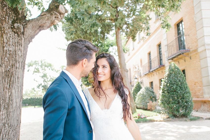 A Wedding in the Elegant Palace of Aldovea