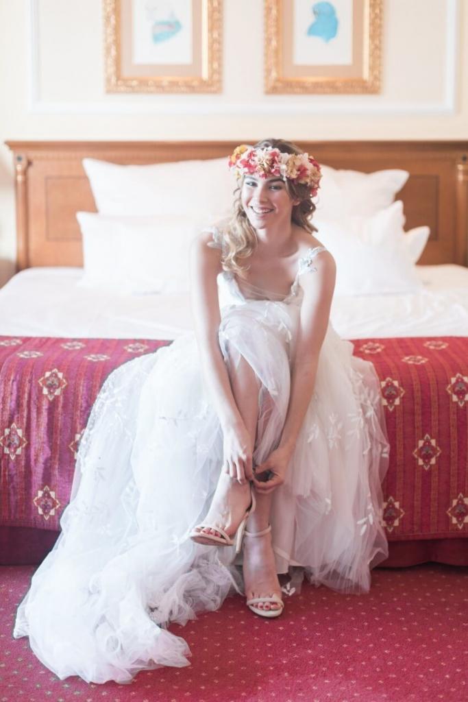 boda en hotel Botanico