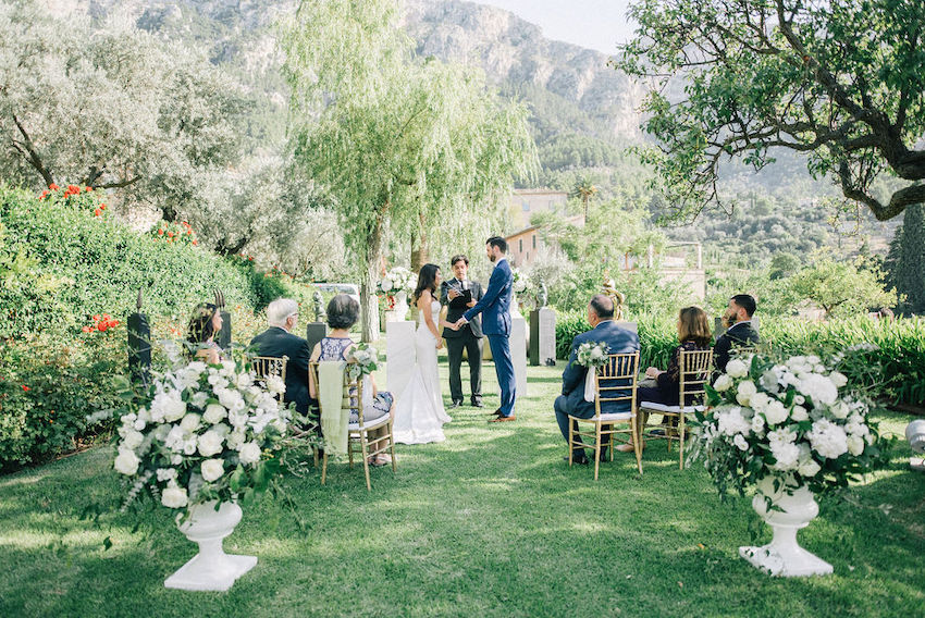 American people in Mallorca: this is how the wedding went
