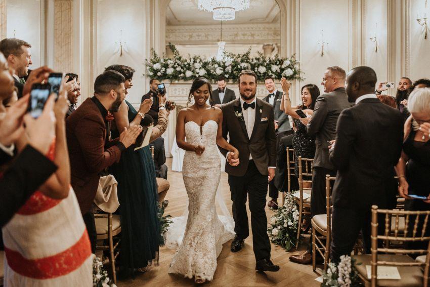 Emociones a flor de piel en la boda de Shelly y Nick