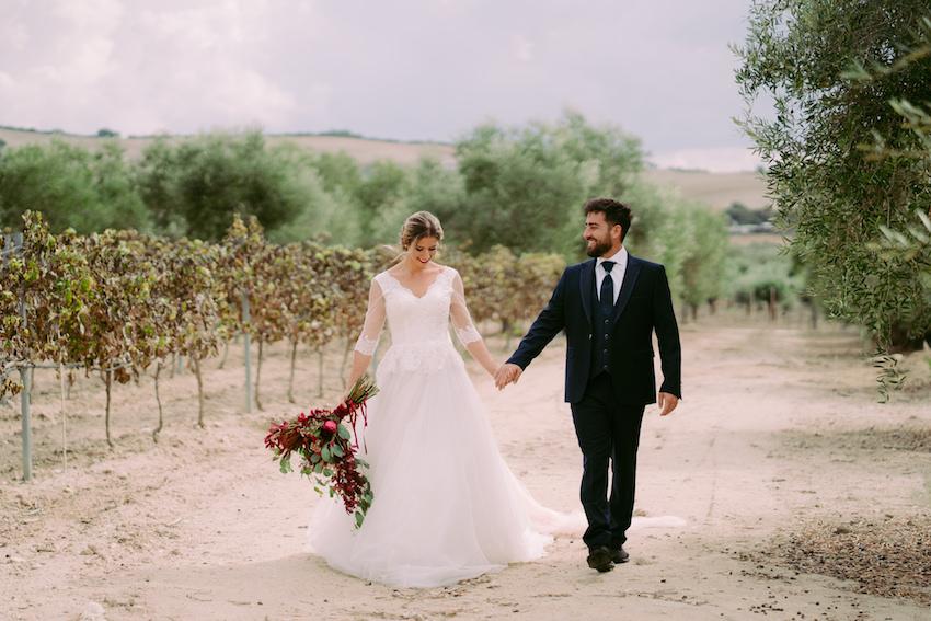 Una boda en Faín Viejo, entre la flora y la fauna de Andalucía