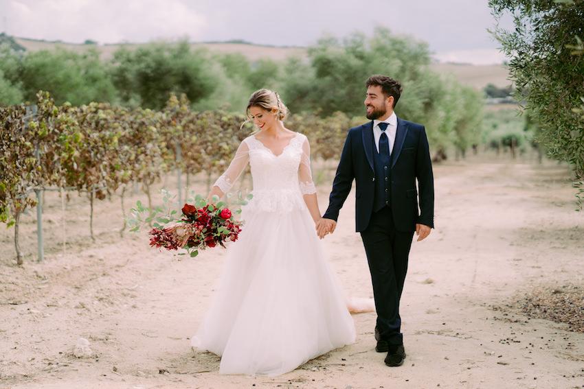 Un mariage à Faín Viejo, entre la flore et la faune d'Andalousie