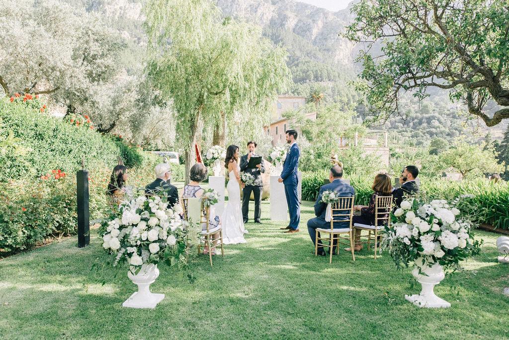 Americani a Maiorca: la storia del loro matrimonio
