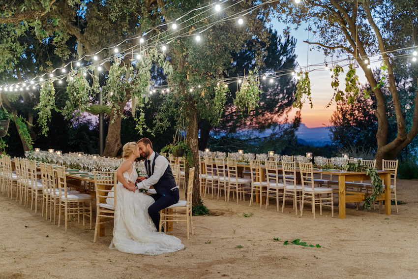 Private wedding in Barcelona at Mas de Sant Llei
