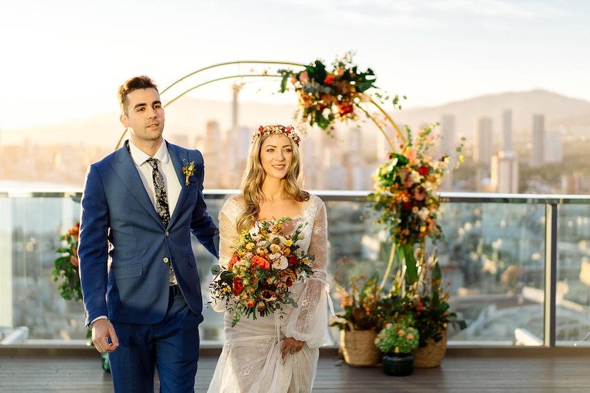 Benidorm elopement - Weddings and Events by Natalia Ortiz