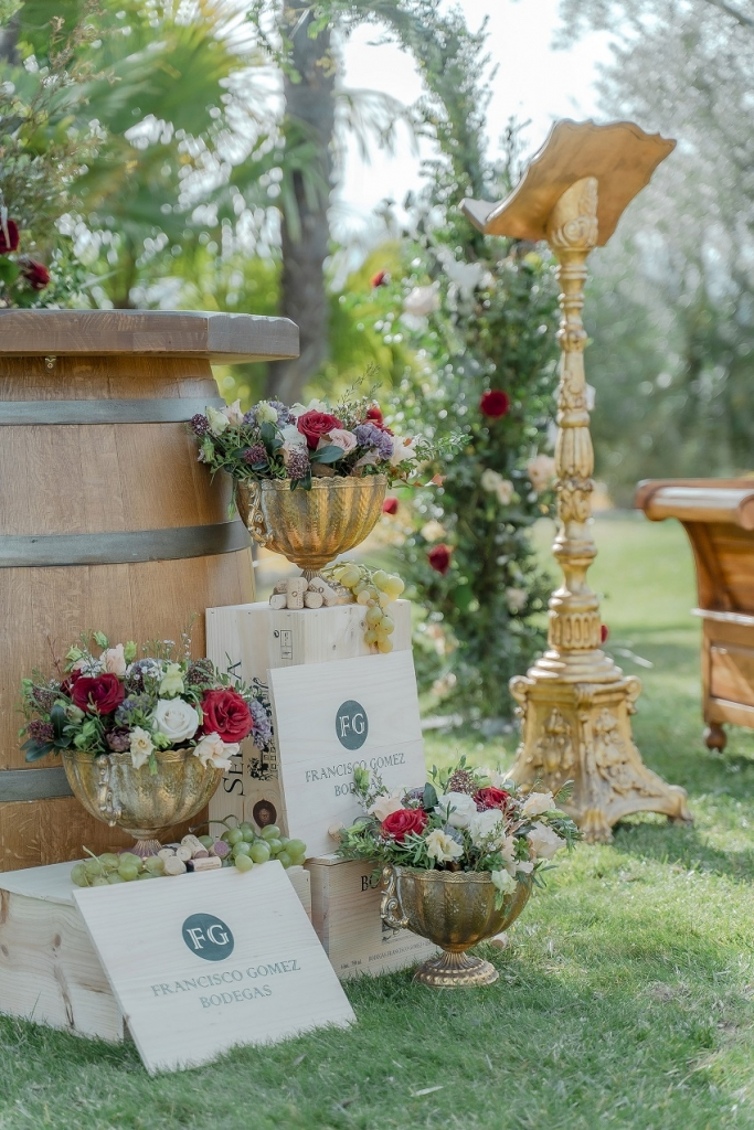 Vineyard wedding - Weddings and Events by Natalia Ortiz