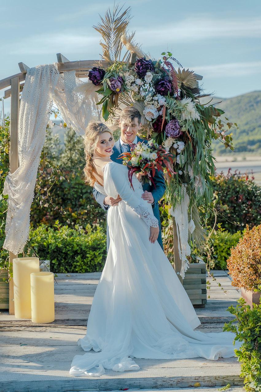 Семья Гадиель и их свадьба в виноградниках