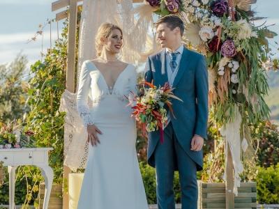 vineyard wedding in spain - Wedding by Natalia Ortiz